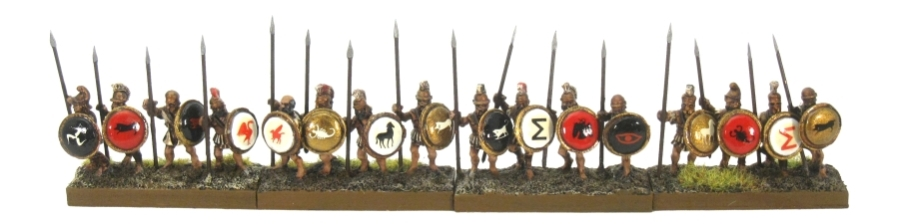 DBA De Bellis Antiquitatis Greek Spearmen