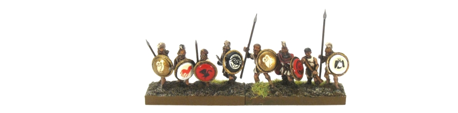 DBA De Bellis Antiquitatis Greek Spearmen