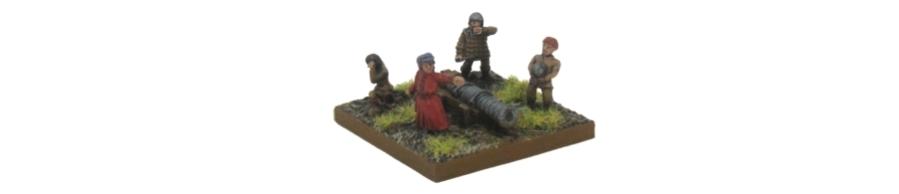 DBA De Bellis Antiquitatis Medieval - Artillery