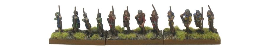 DBA De Bellis Antiquitatis Medieval - Bowmen