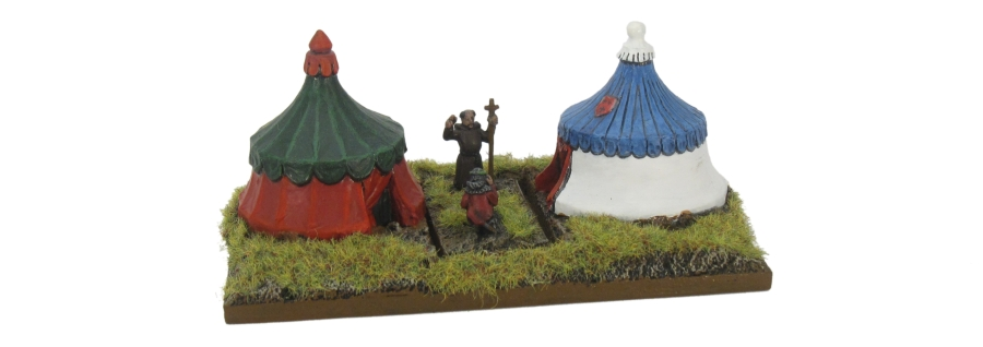 DBA De Bellis Antiquitatis Medieval - Camp