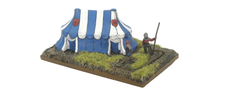 DBA De Bellis Antiquitatis Medieval - Camp
