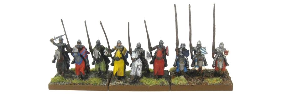 DBA De Bellis Antiquitatis Medieval - Knights