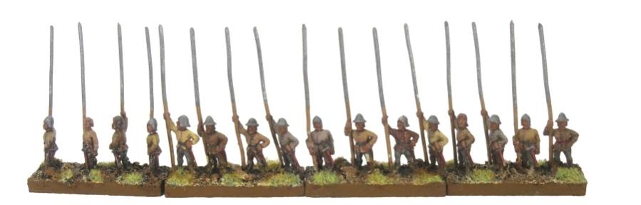 DBA De Bellis Antiquitatis Medieval - Pikes