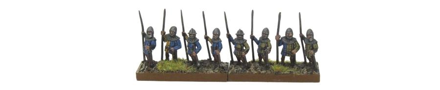 DBA De Bellis Antiquitatis Medieval - Spearmen