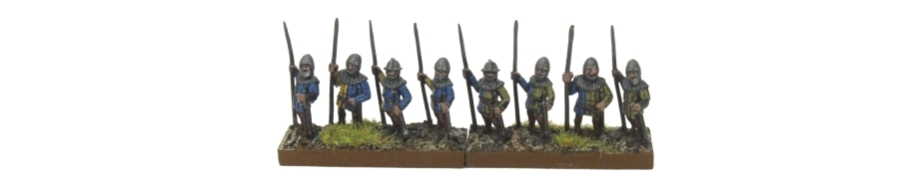 DBA De Bellis Antiquitatis Medieval - Spearmen