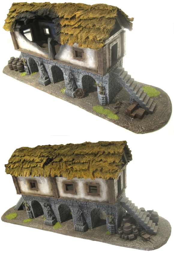 Mordheim Building - Arch House