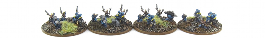 EPIC Armageddon Chaos - Tzeentch Fire Support