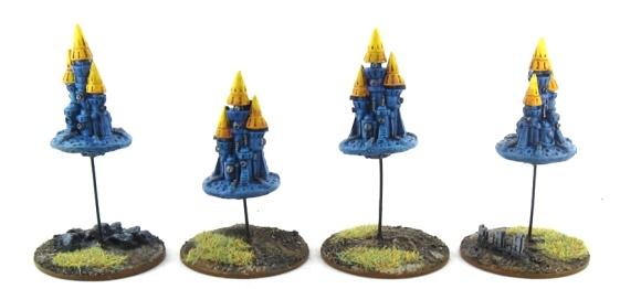 EPIC Armageddon Chaos - Tzeentch Silver Towers