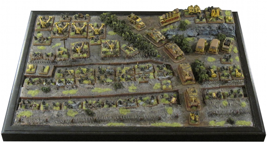 Custom Gaming Table German Army – Wargaming Workshop
