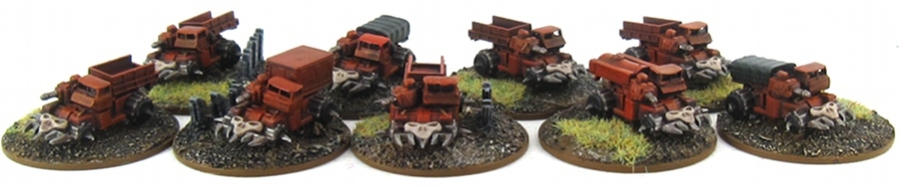 EPIC Chaos - Khorne Transports 1