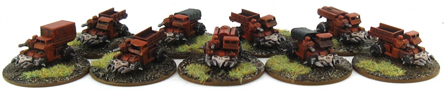 EPIC Chaos - Khorne Transports 2