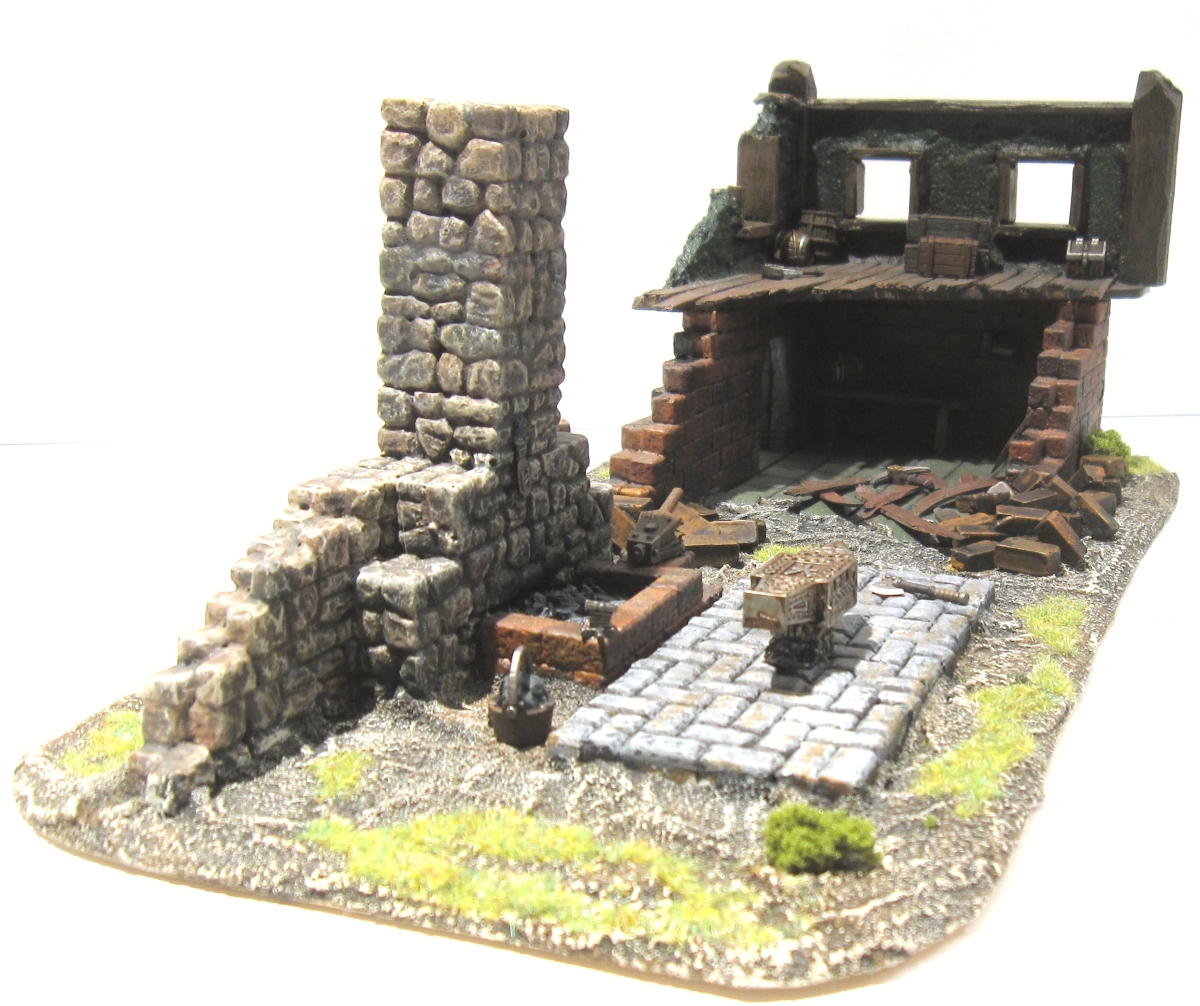 Mordheim Building - Smithy 3