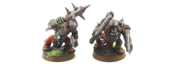 Mordheim Orcs - Big'Uns