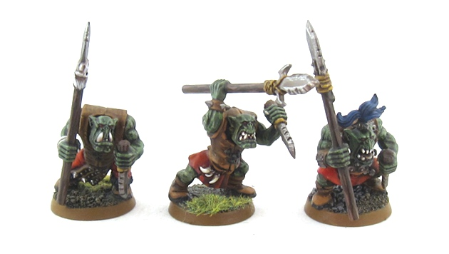 Mordheim Orcs - Boyz with Spears