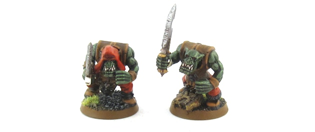 Mordheim Orcs - Boyz with Swords