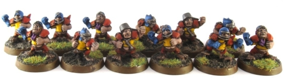Blood Bowl Halflings - Linemen
