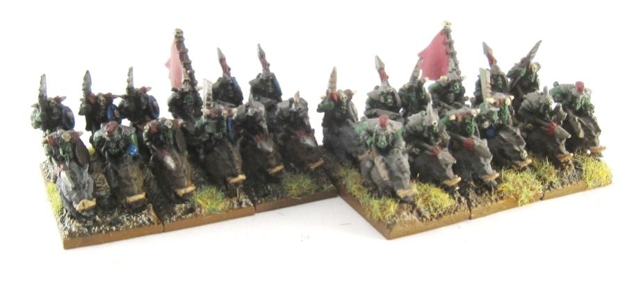WM Orc - Boar Boyz