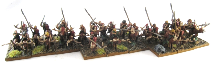 WM Wood Elf - Wild Riders