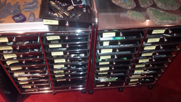 Active Project Drawers