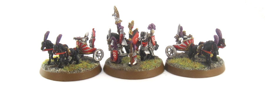 WM HE - General and Chariots
