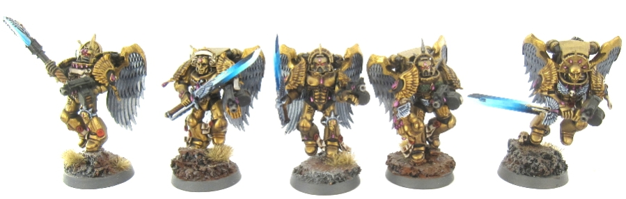 40k BA - Sanguinary Guard 1
