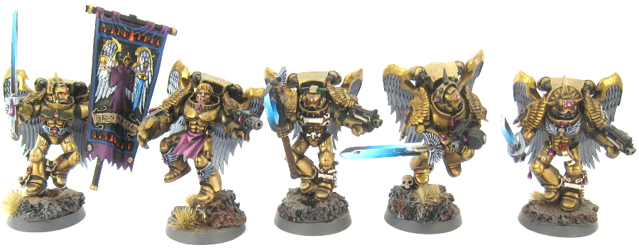 40k BA - Sanguinary Guard 2