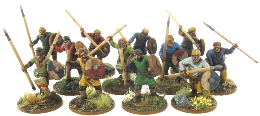 SAGA Anglo-Saxon - Gebur with Spears