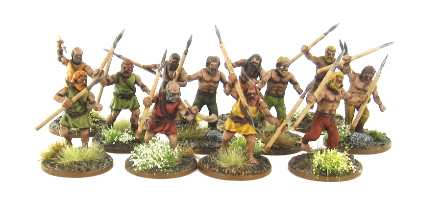SAGA Generic - Levy with Javelins