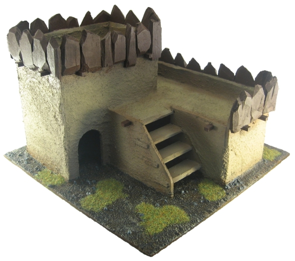 Terrain - 28mm Ork Hut 1
