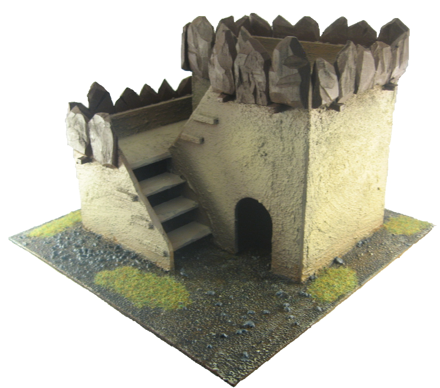 Terrain - 28mm Ork Hut 2