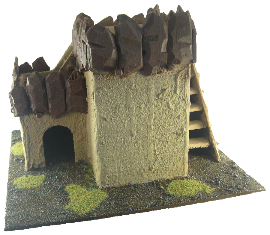 Terrain - 28mm Ork Hut 3