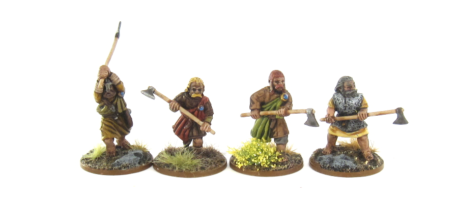 SAGA Irish - Fianna with Dane Axes