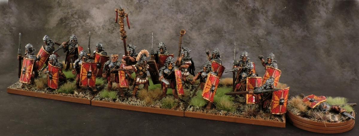 HC Roman - II Cohort Legio XII