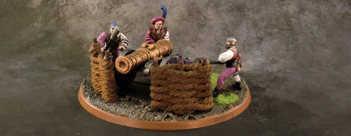 WFB Empire - Cannon 2