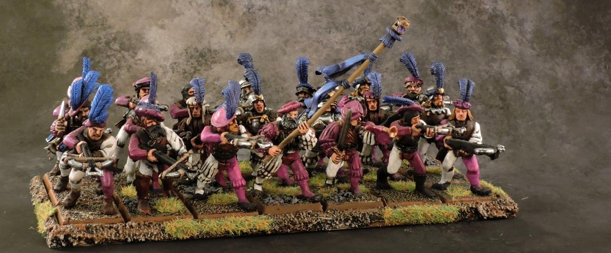 WFB Empire - Crossbowmen