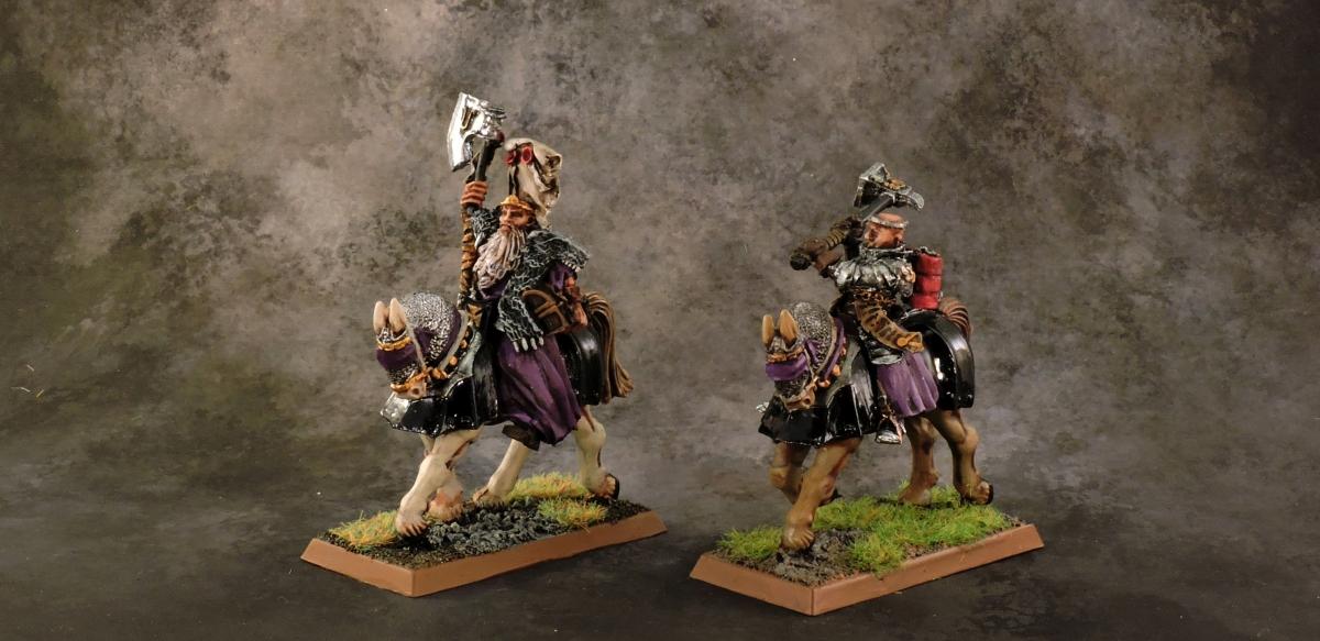 WFB Empire - Mounted Warrior Priests