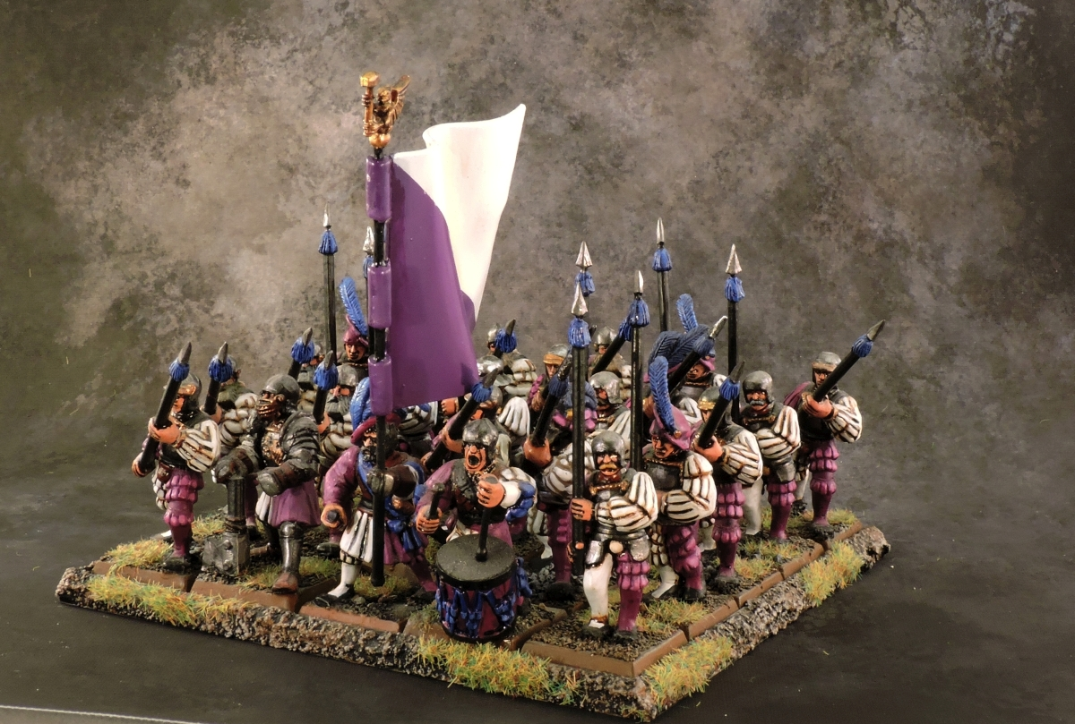 WFB Empire - Spearmen 1