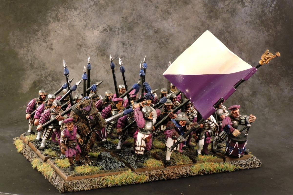 WFB Empire - Spearmen 2