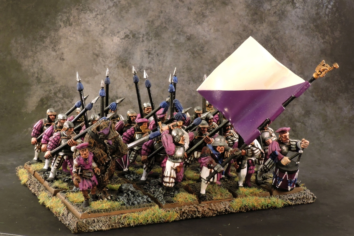 WFB Empire - Spearmen 2