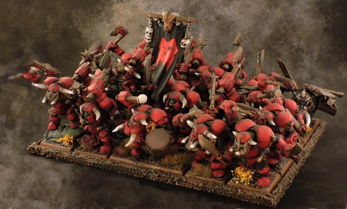 WFB Orcs - Black Orcs
