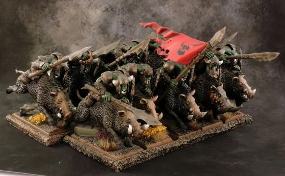 WFB Orcs - Boar Boyz 1