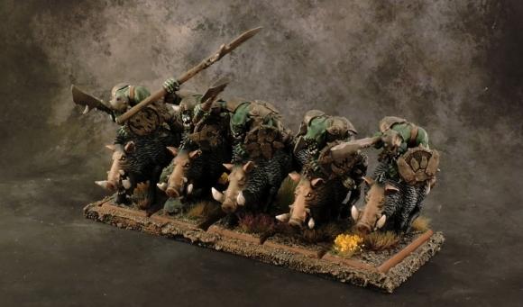 WFB Orcs - Boar Boyz 2