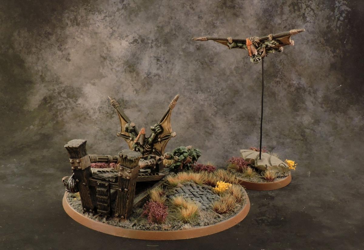 WFB Orcs - Doomdiver