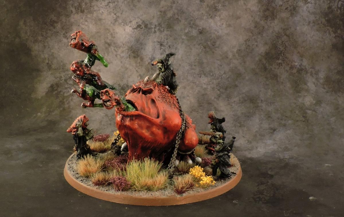 WFB Orcs - Giant Gobba