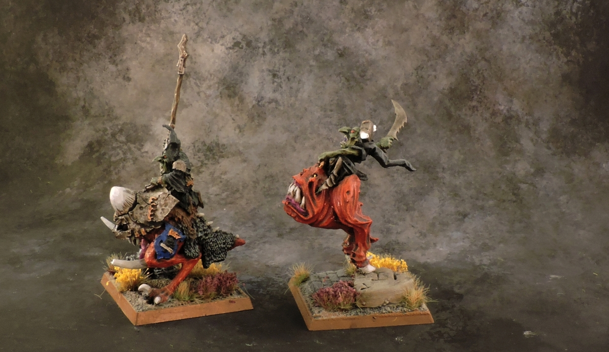 WFB Orcs - Giant Squig Riders Rear