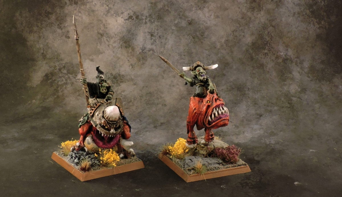 WFB Orcs - Giant Squig Riders