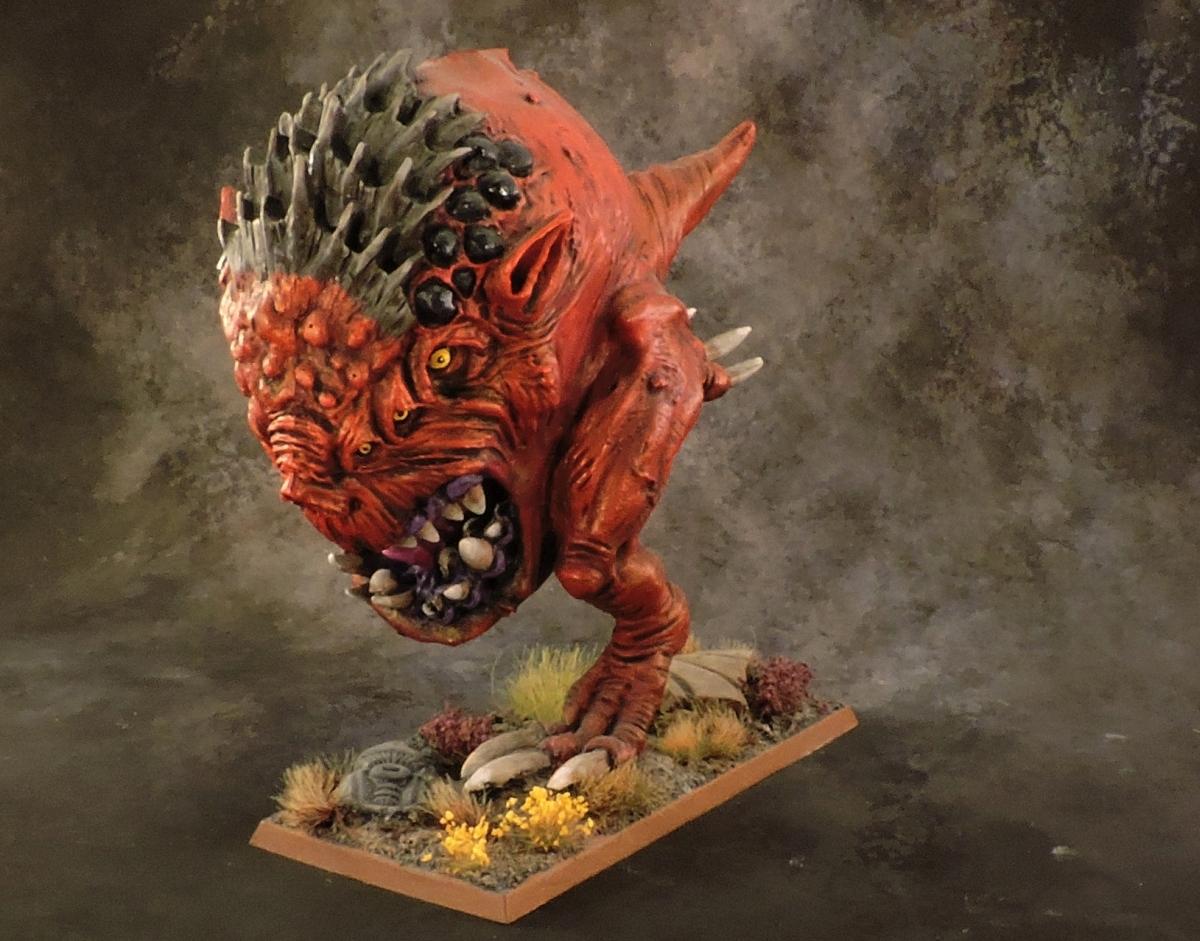 WFB Orcs - Giant Squig