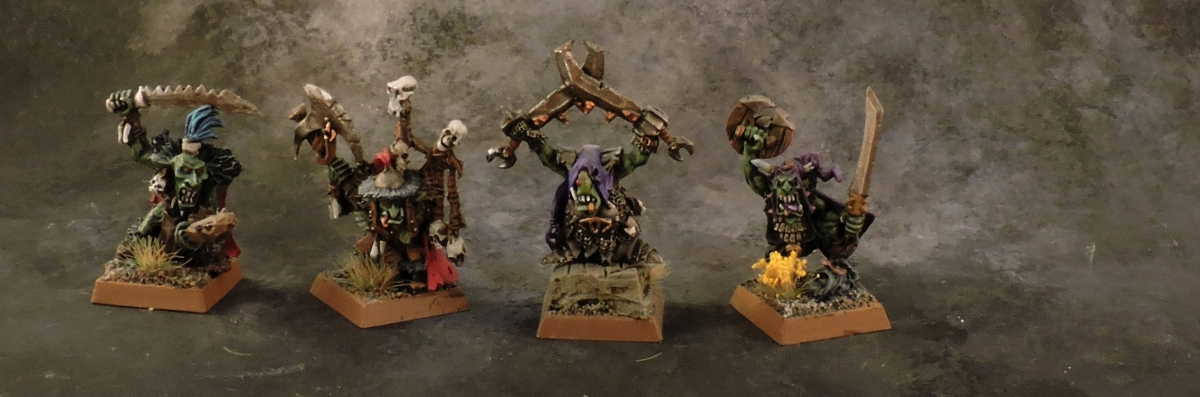 WFB Orcs - Goblin Big Bosses