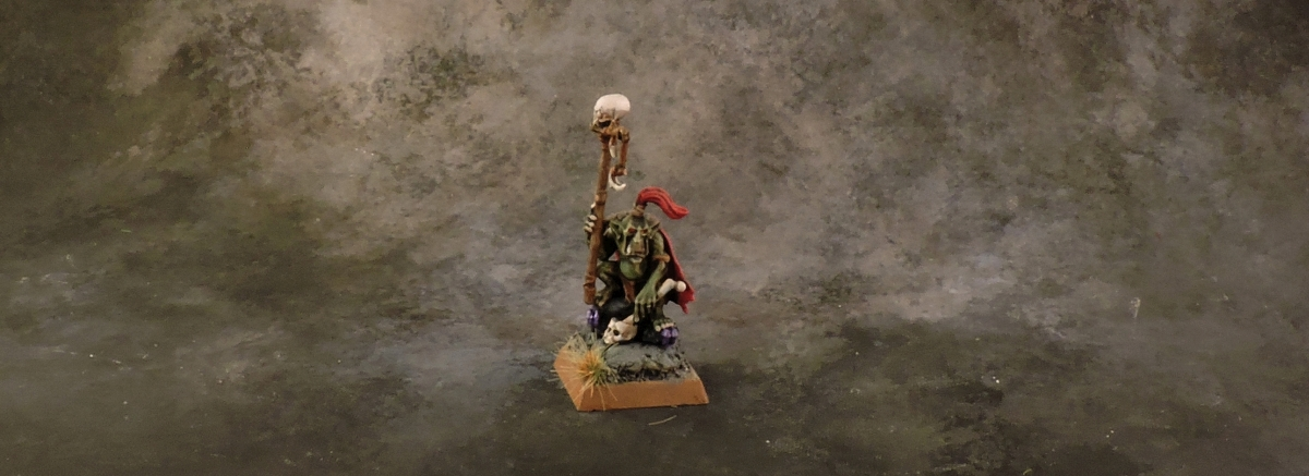 WFB Orcs - Goblin Shaman